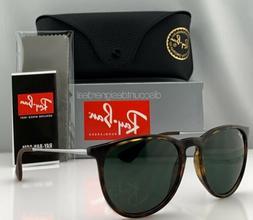 Ray-Ban RB4171 Erika Sunglasses Tortoise Classic Green Lense