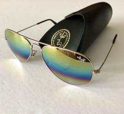Ray Ban sunglasses Aviator Large RB3025 Gold Made in Italy N