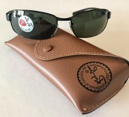 Ray Ban sunglasses Men's Polarized RB3364 Black 62mm New 1