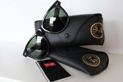 Ray Ban Wayfarer Black 54mm Large Size RB 2140 901 G15 Lense
