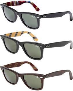 Ray-Ban Wayfarer Men's Classic Handmade Sunglasses w/ G-15 L
