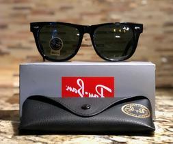 Ray-Ban Wayfarer Sunglasses RB2140 901 54mm Black Frame/G-15