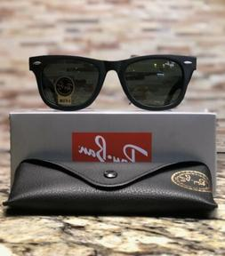 Ray-Ban Wayfarer Sunglasses RB2140 901S 50mm Matte Black Fra