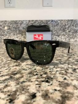 Ray-Ban Wayfarer Sunglasses RB2140 902 54mm Tortoise Shell F