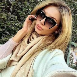 Cut Off  RAZOR Lenses Oversized Women Sunglasses GAFAS SHADZ