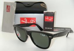 Ray-Ban RB2140 Original Wayfarer Polarized Sunglasses 901/58