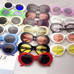 Retro Clout Goggles Unisex Sunglasses Rapper Oval Shades Gru