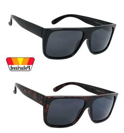 Retro Square Frame Sunglasses Mens Womens Flat Top Square Su