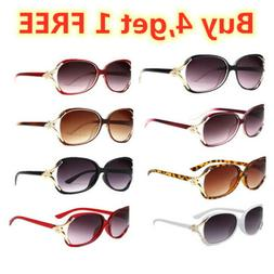Retro Aviator Sunglasses Vintage Multi-color New Men Women F