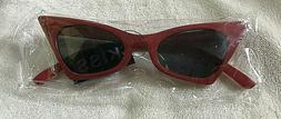 WearMe Pro - Retro Vintage Tinted Lens Cat Eye Sunglasses -
