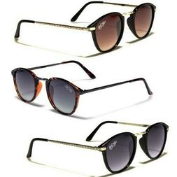 45ee93271982 Editorial Pick Retro Rewind Round Vintage Men s Women s Sunglasses Black Br