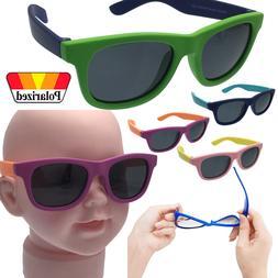 Rubber Flexible Polarized Sunglasses Plastic Boys - Baby Chi