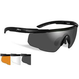 WILEY X Sunglasses SABER ADVANCED Matte Black Frame 44MM