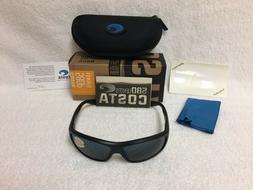 Costa Del Mar Saltbreak Sunglasses, Blackout, Gray 580P Lens