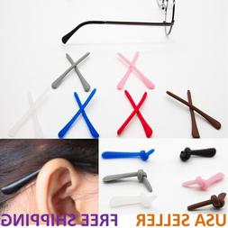 Silicone Temple End Tip Repairs for Eyeglasses Sunglasses Sp