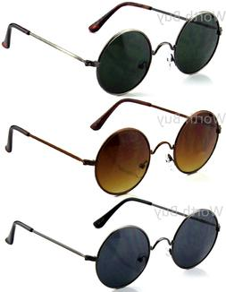 Small John Lennon Sunglasses Round Hippie Hipster Shades Ret