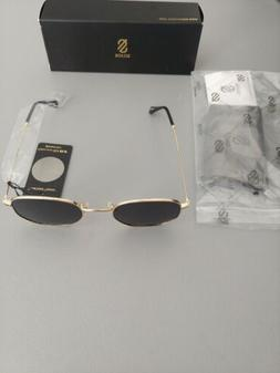 SOJOS Small Square Polarized Sunglasses for Men and Women Po