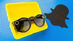 SNAPCHAT SPECTACLES IPHONE SUNGLASSES WITH CASE & CHARGER WI