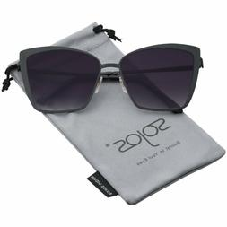 Sojos Cateye Sunglasses For Women Fashion Mirrored Lens Meta