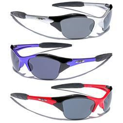 Sports Men Wrap Around Sunglasses Baseball Cycling Ski Surf