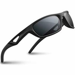 Sports Sunglasses Driving Glasses Shades for Men Women TR90