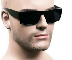 Square Cholo Sunglasses Super Dark OG LOC Gangster Style Bla