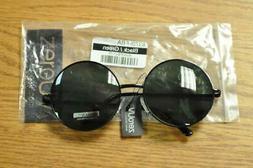 zeroUV Steampunk Sunglasses Black Green Lenses 83701-FBA FAS