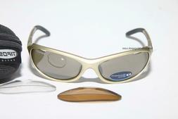 Tifosi Strada T-1630 PLATINUM Sunglasses Golfing Cycling Run