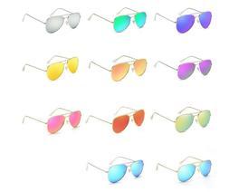 Stylish Full Mirror Reflective Aviator Polarized Sunglasses