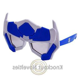 Sun-Staches Kids - Optimus Prime Funny Novelty Silly Sunglas