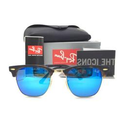 Ray-Ban Sunglasses, RB3016 49 Clubmaster Mirrored