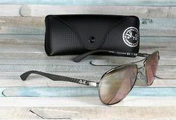 Ray-Ban Sunglasses, RB8313 58 Carbon Fibre