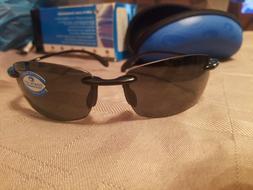 Costa Del Mar Sunglasses - Black/Gray Poly