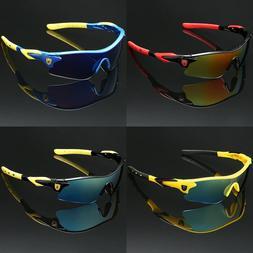 Sunglasses Boys Mirror Lens Sport Kids Teen Baseball Cycling