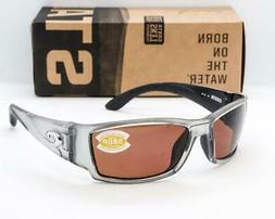 Costa Del Mar Corbina Polarized Sunglasses - Silver/Copper 5