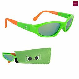 Sunglasses for Babies, Mirrored Lenses,For Infants and Toddl