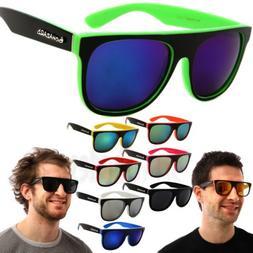 Biohazard Sunglasses Goggle Designer Glasses Mirror Lens Mul