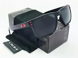 Sunglasses-Holbrook-Polarized@⁸Oakley##¹ Matte Black Grey