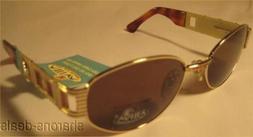 Sunglasses Italy Gold Attiva Dierre Melanin 66 264 Hinged Gr