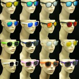 Sunglasses men women retro vintage style glasses frame color