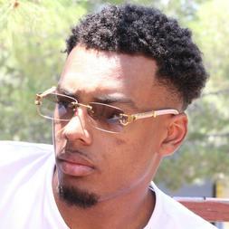 Sunglasses Men Elegant Luxury Wood Buff Glasses for Men Uniq