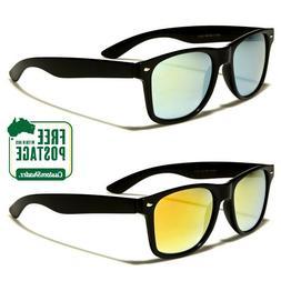 Retro Optix Sunglasses - Mens / Womens - Retro Frame - Mirro