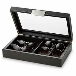 Glenor Co Sunglasses Organizer Case - 8 Slot Storage Holder