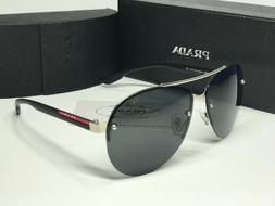 Sunglasses-Polarize22#¹Prada@¹ Sport Black Demi Grey Iridi