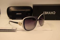 Sunglasses Polarized Embellished Oversized White/Gray Lens20