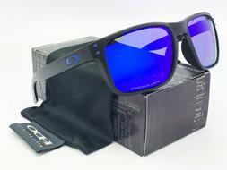 Sunglasses Polarized HolbrooK-Matte-Black Blue Mercury Lens