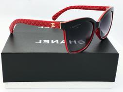 Sunglasses-Polarized@OversizedA-Black-Red Gold-Logo-Grey-Len