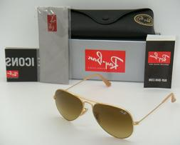 RAY BAN Sunglasses RB 3025 112/85 Matte Gold 55MM