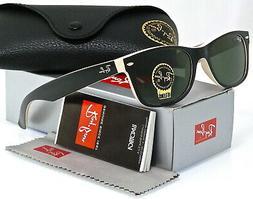 RAY BAN Sunglasses RB 2132 875 Black Beige 52MM