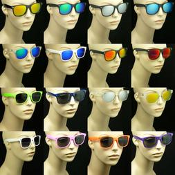 Sunglasses men women retro vintage style glasses frame color